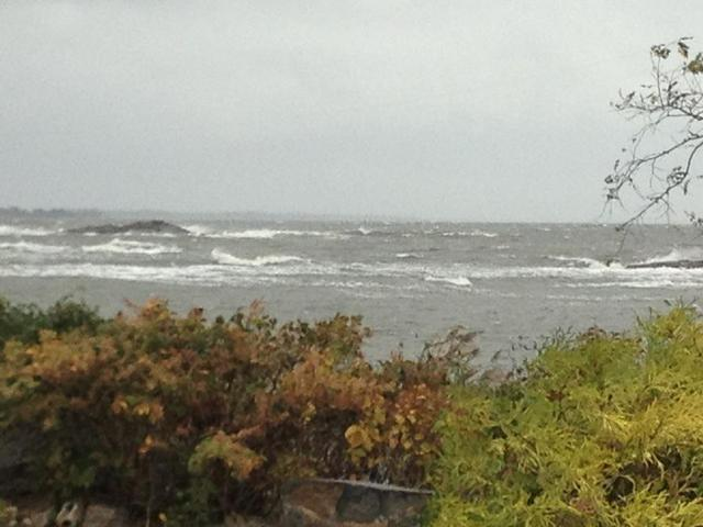 Parsonage Point the morning of the storm.  Still some 10 hours + from landfall