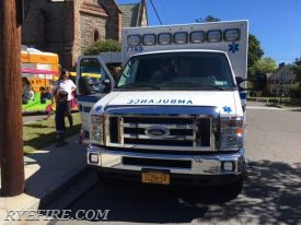 Port Chester-Rye-Rye Brook EMS Ambulance